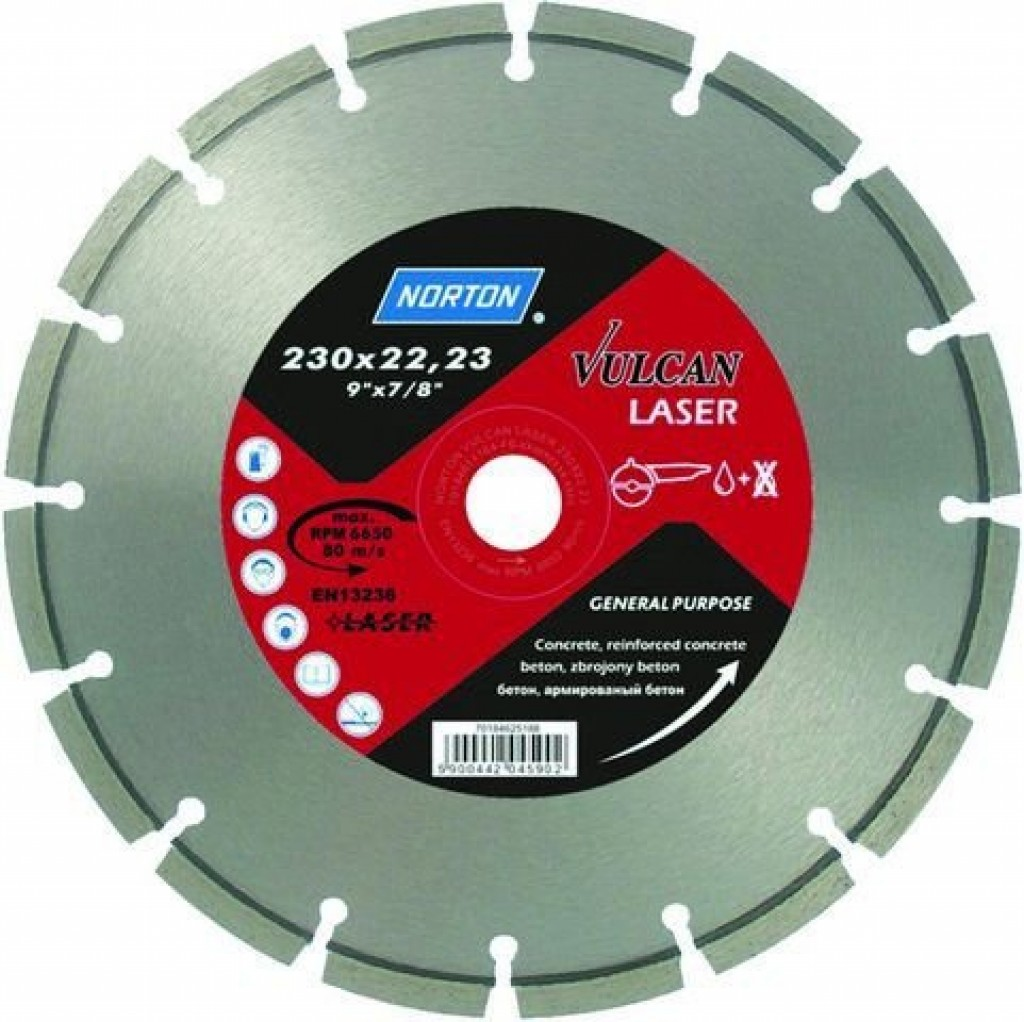 Алмазный диск VULCAN LASER 125...